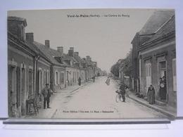 72 - YVRE LE POLIN - LE CENTRE DU BOURG - ANIMEE - France