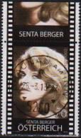 """Österreich 2013: """"Senta Berger"""" Gestempelt (siehe Foto/Scan) - 1945-.... 2ème République"""