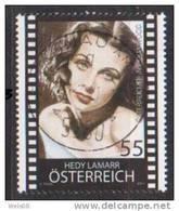 """Österreich 2011: """"Hedy Lamarr"""" Gestempelt - 1945-.... 2de Republiek"""