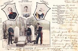 Vierlanderblick Aachen Vaals 1903 Grenzpunkt Royalty Grenze Vaals Neutral Gebiet Kelmis Moresnet - Verlag Grummer Aachen - Vaals