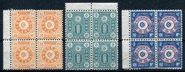 1884- KOREA - RARE BLOCS - 12 VAL. - M.N.H. - Korea (...-1945)