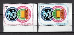 GUINEE N° 711 + 712  NEUFS SANS CHARNIERE COTE 11.00€ ANNEE DES PERSONNES HANDICAPES - Guinée (1958-...)