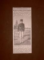 Il Principe Amedeo Nel 1914 Duca Delle Puglie Allievo Collegio Militare Napoli - Libri, Riviste, Fumetti