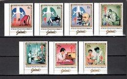 GUINEE N° 713 à 719  NEUFS SANS CHARNIERE COTE 22.00€  BACILLE DE LA TUBERCULOSE  ROBERT KOCH - Guinée (1958-...)