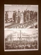 Durazzo Nel 1914 Re Guglielmo I E Regina Sofia Vapore Taurus Reggia Albania - Livres, BD, Revues