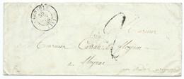 MP LAGUIOLE AVEYRON 1849 / TAXE - 1849-1876: Classic Period