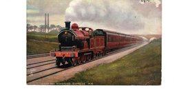 LES LOCOMOTIVES (Royaume-Uni) LEEDS AND BRADFORD EXPRESS M.R. - Trains