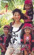 Télécarte Japon * EROTIQUE  (6280) EROTIC * NAGER  PHONECARD JAPAN * TK * BATHCLOTHES * FEMME SEXY LADY LINGERIE - Mode