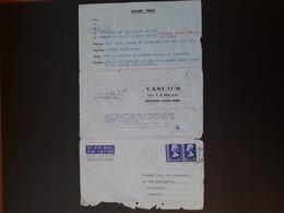 UK - Hong-Kong - 1976 - Lettre Commerciale Pour Casablanca (Morocco) N° 1 - Hong Kong (...-1997)
