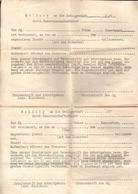 "Militaria 2. Weltkrieg Formular ""Meldung An Die Gefolgschaft Der HJ - Documents"