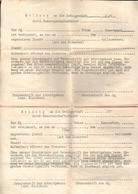 "Militaria 2. Weltkrieg Formular ""Meldung An Die Gefolgschaft Der HJ - Dokumente"