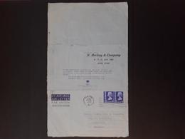 UK - Hong-Kong - 1976 - Lettre Commerciale Pour Casablanca (Morocco) N° 2 - Hong Kong (...-1997)