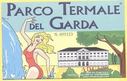 COLA' DI LAZISE - Parco Termale Del Garda - Villa Dei Cedri - Biglietto D'Ingresso - Tickets D'entrée