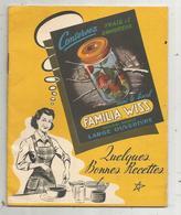Publicité , BOCAL FAMILIA WISS,  VMC Reims ,15 Pages , Recettes , 5 Scans ,frais Fr 1.75 E - Publicités
