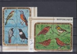 Burundi (BBK) Michel Cat.No. Mnh/** 690/701 Birds - 1970-79: Neufs