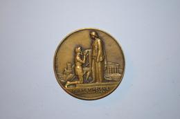 Médaille Bronze Goethe (Raoul Benard) 68mm - Other Collections
