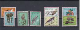 Ghana (BBK) Michel Cat.No. Mnh/** 198/205 Birds - Ghana (1957-...)