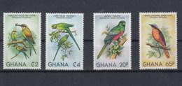 Ghana (BBK) Michel Cat.No. Mnh/** 872/875 Birds - Ghana (1957-...)