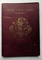 SEYCHELLES 1997 Passport Reisepass Passeport Many Visas No Passport Photo (Cancelled, Collectible Item) - Historical Documents