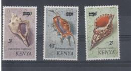 Kenia (BBK) Michel Cat.No. Mnh/** 51/53 Shells - Kenya (1963-...)