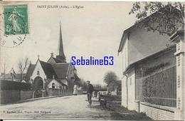 Saint-Julien - L'Eglise - 1917 - Other Municipalities