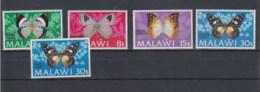 Malawi (BBK) Michel Cat.No. Mnh/** 195/198 I/II Butterfly - Malawi (1964-...)