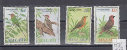 Malawi (BBK) Michel Cat.No. Mnh/** 453/456 Birds - Malawi (1964-...)