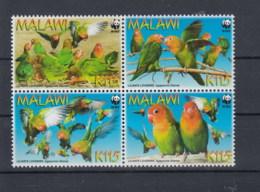 Malawi (BBK) Michel Cat.No. Mnh/** 819/822 Birds - Malawi (1964-...)