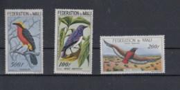 Mali (BBK) Michel Cat.No. Mnh/** 3/5 Birds - Mali (1959-...)