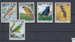 Mali (BBK) Michel Cat.No. Mnh/** 578/582 Birds - Mali (1959-...)