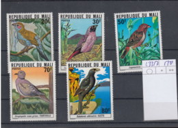 Mali (BBK) Michel Cat.No. Mnh/** 633/637 Birds - Mali (1959-...)