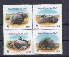 Mali (BBK) Michel Cat.No. Mnh/** 1974/1977 Wwf - Mali (1959-...)