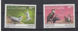 Mauretanien (BBK) Michel Cat.No. Mnh/** 923/924 Birds - Mauritania (1960-...)