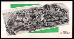 1946  --  MAQUETTE D UN AVANT PROJET DU PARC DE ROMAINVILLE  3Q159 - Vieux Papiers