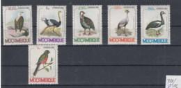 Mocambique (BBK) Michel Cat.No. Mnh/** 771/776 Birds - Mozambique