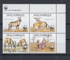 Mocambique (BBK) Michel Cat.No. Mnh/** 3658/3661 Wwf - Mozambique