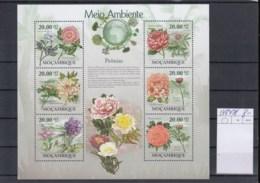 Mocambique (BBK) Michel Cat.No. Mnh/** Sheet 3469/3474 Flowers - Mozambique
