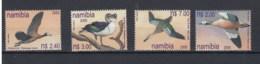 Namibia (BBK) Michel Cat.No. Mnh/** 1005/1008 Bird - Namibie (1990- ...)