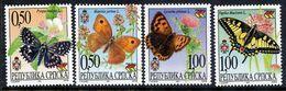 BOSNIAN SERB REPUBLIC 2001 Butterflies MNH / **.  Michel 202-05 - Bosnia And Herzegovina