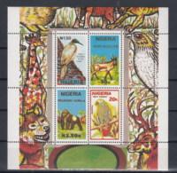 Nigeria (BBK) Michel Cat.No. Mnh/** Sheet 10 Birds - Nigeria (1961-...)