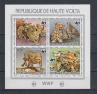 Ober Volta (BBK) Michel Cat.No. Mnh/** Sheets 87 Wwf - Alto Volta (1958-1984)