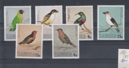 Sambia (BBK) Michel Cat.No. Mnh/** 180/183 Birds - Zambie (1965-...)