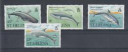 St.Helena (BBK) Michel Cat.No. Mnh/** 473/476 Whale - Saint Helena Island