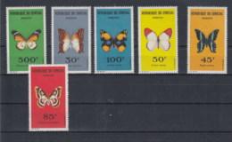 Senegal (BBK) Michel Cat.No. Mnh/** 267/272 Butterfly - Senegal (1960-...)