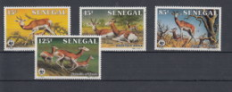 Senegal (BBK) Michel Cat.No. Mnh/** 875/878 Wwf - Senegal (1960-...)