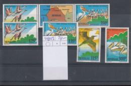 Senegal (BBK) Michel Cat.No. Mnh/** 948/953 Birds - Senegal (1960-...)