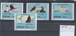 Senegal (BBK) Michel Cat.No. Mnh/** 1051/1054 Birds - Sénégal (1960-...)