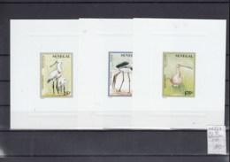 Senegal (BBK) Michel Cat.No. Mnh/** Sheet 1463/1467 Epreuves De Luxe Birds - Senegal (1960-...)