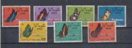 Somalia (BBK) Michel Cat.No. Mnh/** 24/30 Butterfly - Somalia (1960-...)