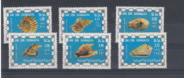 Somalia (BBK) Michel Cat.No. Mnh/** 237/242 Shellls - Somalia (1960-...)